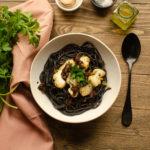 Pasta nero aux encornets