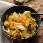 Salade d endives façon cesar