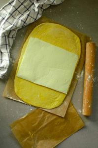 Pâte à brioche feuilletée