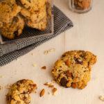 Cookies aux 2 chocolats et amandes