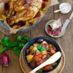 Poulet chorizo et pommes de terre