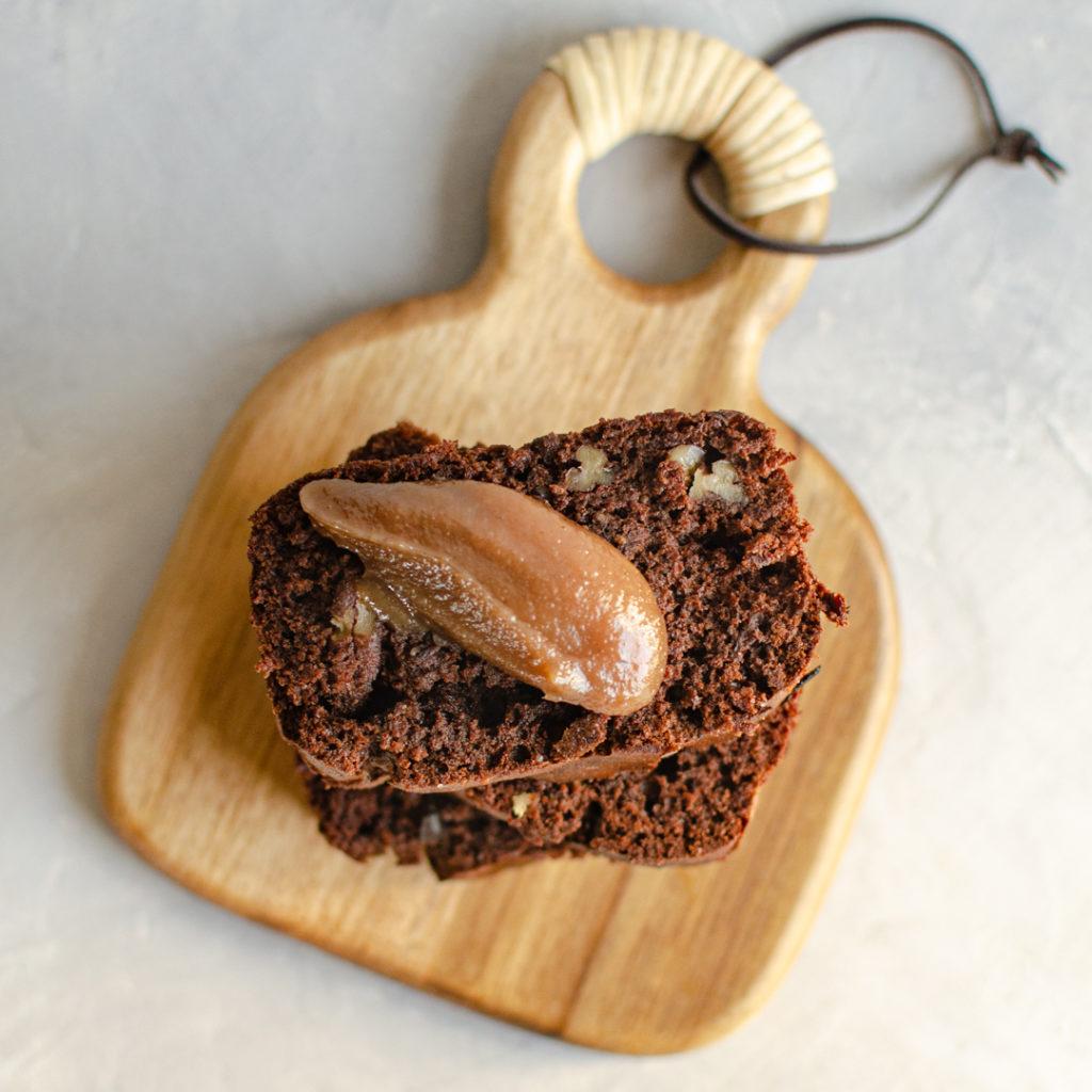 cake chocolat et farine de chataigne